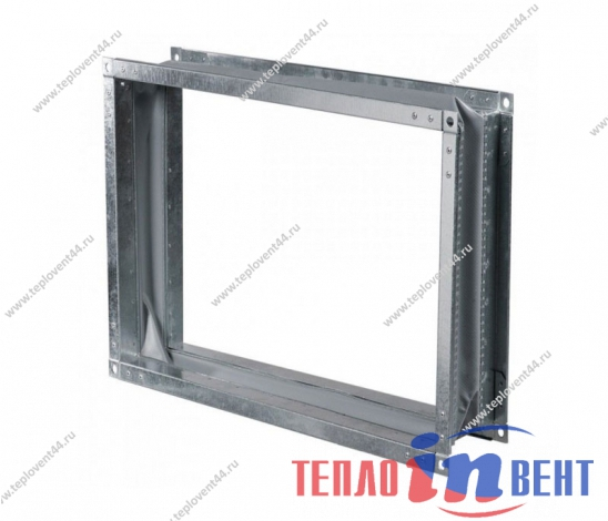 Гибкая вставка прямоугольная для вентилятора