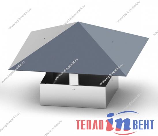 Зонты прямоугольные вентиляционные ЗП